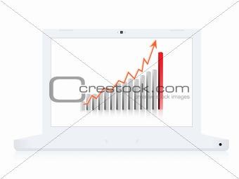Business computer notebook