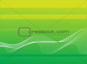 abstract background, stylized waves
