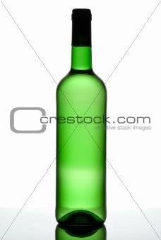 Green bottle.