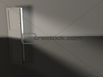 Blanzing door
