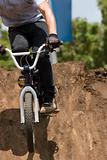 BMX Biker landing
