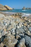Beach on the coast of Cantabria