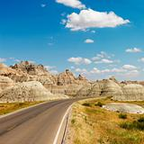 Badlands, North Dakota.