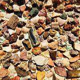 Colorful stones.