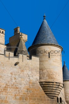 Tower of the castle of Olite