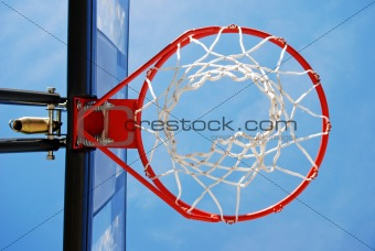 Basketball Rim and Net