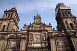 Metropolitan Cathedral Zocalo Mexico City
