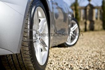 Sliver Sports Car