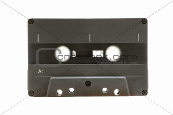 Grey Audio Tape