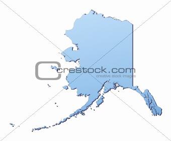 Alaska(USA) map