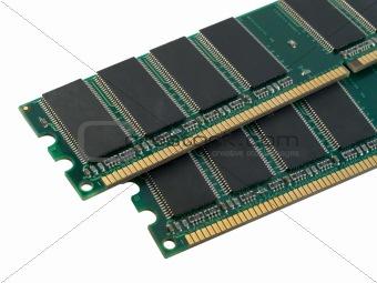 Pair of RAM
