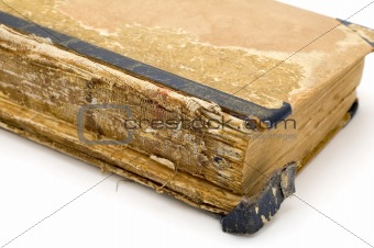 ancient book close up