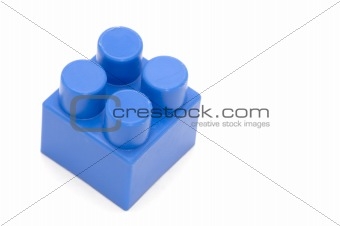 blue building block