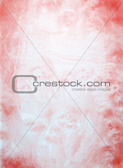 abstract wall painting in red and white