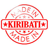 Made in Kiribati red seal