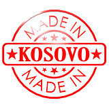 Made in Kosovo red seal