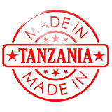 Made in Tanzania red seal