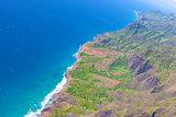 kauai view from helicopter