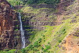 waterfall at kauai
