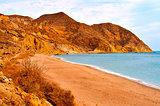 Algarrobico Beach in the Cabo de Gata-Nijar Natural Park, in Spa