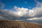 Storm Clouds Over Thorpness, Suffolk, England
