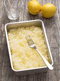 rustic italian summer dessert lemon granita