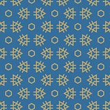 Vector seamless pattern. Repeating geometric tiles.