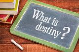 What is destiny question on blackboard
