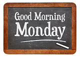 Good Morning Monday on blackboard