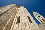 Zadar saint Donat church wide view