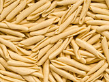 sicilian dried pasta casareccia food background