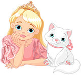 Princess and Cat