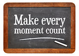 Make every moment count on blackb oard