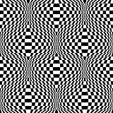Design seamless monochrome checkered background