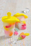 Popsicle Ice Pops with candy
