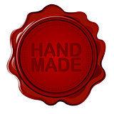 Hand made wax seal