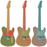 Retro guitar set