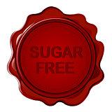 SUGAR FREE wax seal