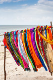 Beautiful colourful scarfes