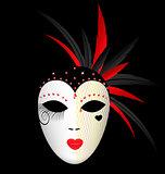 carnival dark mask