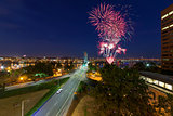 4th of July Fireworks Portland Oregon
