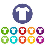 T-shirt flat icon