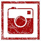 Camera grunge icon
