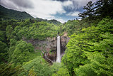 One of top 3 waterfalls in Japan. Kegon Falls, Nikko