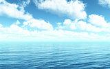 3D sea landscape
