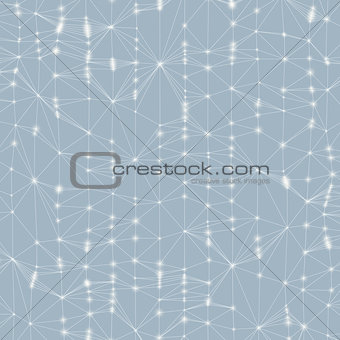 3d abstract background. Technology vector illustration.