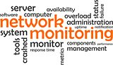 word cloud - network monitoring