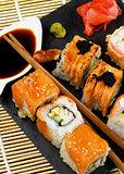 Various Maki Sushi
