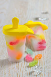 popsicles ice pops with candy