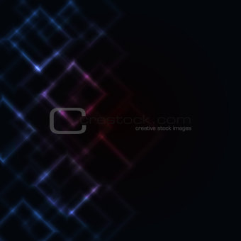Abstract luminous background